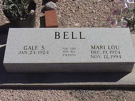BELL, GALE S. - Pima County, Arizona | GALE S. BELL - Arizona Gravestone Photos