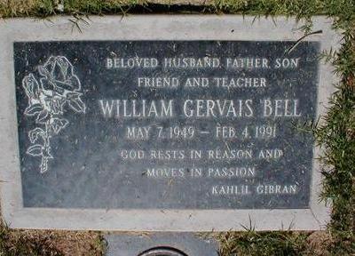 BELL, WILLIAM GERVAIS - Pima County, Arizona | WILLIAM GERVAIS BELL - Arizona Gravestone Photos