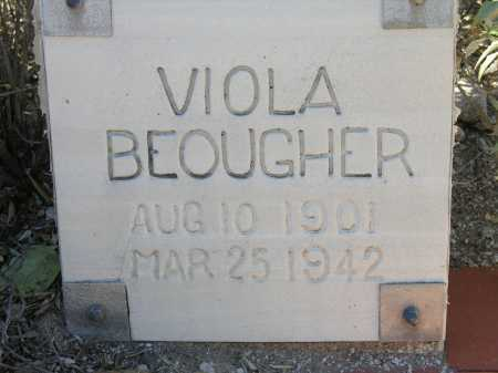 BEOUGHER, VIOLA - Pima County, Arizona | VIOLA BEOUGHER - Arizona Gravestone Photos