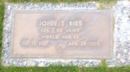 BIES, JOHN S. - Pima County, Arizona | JOHN S. BIES - Arizona Gravestone Photos