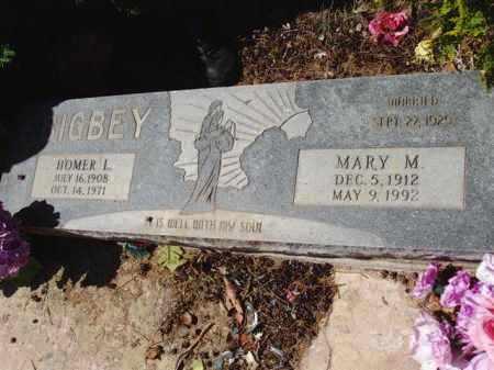 BIGBEY, MARY M. - Pima County, Arizona | MARY M. BIGBEY - Arizona Gravestone Photos