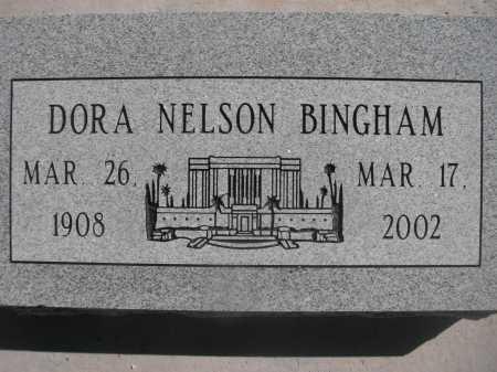 BINGHAM, DORA NELSON - Pima County, Arizona | DORA NELSON BINGHAM - Arizona Gravestone Photos