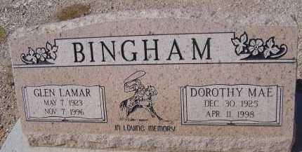 BINGHAM, DOROTHY MAE - Pima County, Arizona | DOROTHY MAE BINGHAM - Arizona Gravestone Photos