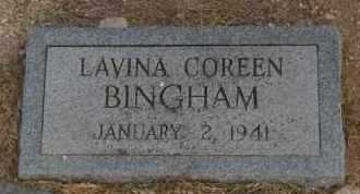 BINGHAM, LAVINA COREEN - Pima County, Arizona | LAVINA COREEN BINGHAM - Arizona Gravestone Photos