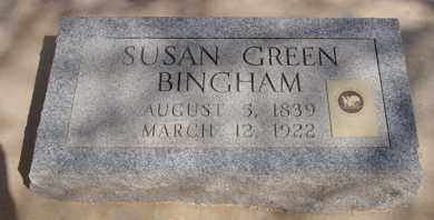GREEN BINGHAM, SUSAN - Pima County, Arizona | SUSAN GREEN BINGHAM - Arizona Gravestone Photos