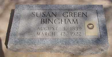 GREEN BINGHAM, SUSAN - Pima County, Arizona   SUSAN GREEN BINGHAM - Arizona Gravestone Photos