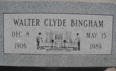BINGHAM, WALTER CLYDE - Pima County, Arizona | WALTER CLYDE BINGHAM - Arizona Gravestone Photos