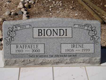 BIONDI, RAFFAELE - Pima County, Arizona | RAFFAELE BIONDI - Arizona Gravestone Photos