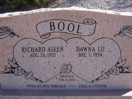 BOOL, RICHARD ALLEN - Pima County, Arizona | RICHARD ALLEN BOOL - Arizona Gravestone Photos