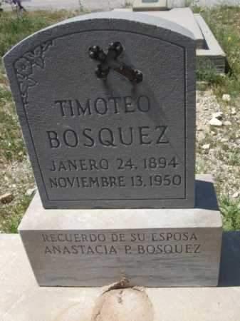BOSQUEZ, TIMOTEO - Pima County, Arizona   TIMOTEO BOSQUEZ - Arizona Gravestone Photos