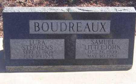 BOUDREAUX, LURA STEPHENS - Pima County, Arizona | LURA STEPHENS BOUDREAUX - Arizona Gravestone Photos