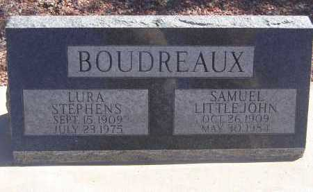 BOUDREAUX, SAMUEL LITTLE JOHN - Pima County, Arizona | SAMUEL LITTLE JOHN BOUDREAUX - Arizona Gravestone Photos