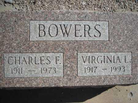 BOWERS, VIRGINIA L. - Pima County, Arizona | VIRGINIA L. BOWERS - Arizona Gravestone Photos