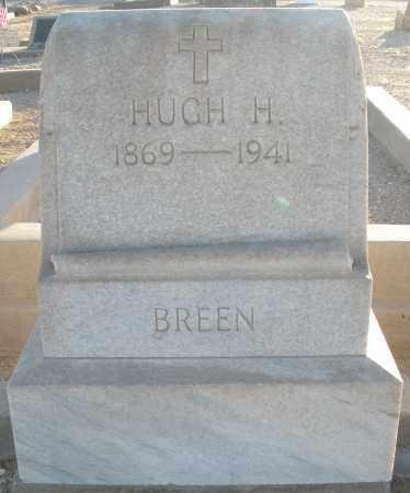BREEN, HUGH HAMILTON - Pima County, Arizona   HUGH HAMILTON BREEN - Arizona Gravestone Photos
