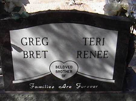 BRET, GREG - Pima County, Arizona | GREG BRET - Arizona Gravestone Photos
