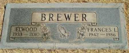 "BREWER, FRANCES LOUISE ""FRAN"" - Pima County, Arizona | FRANCES LOUISE ""FRAN"" BREWER - Arizona Gravestone Photos"