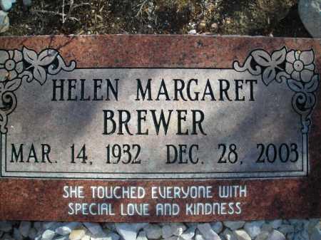 BREWER, HELEN MARGARET - Pima County, Arizona | HELEN MARGARET BREWER - Arizona Gravestone Photos