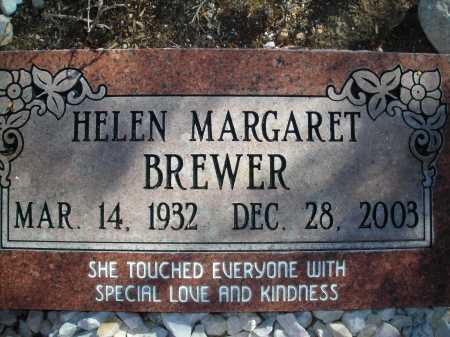 BREWER, HELEN MARGARET - Pima County, Arizona | HELEN MARGARET BREWER - Arizona Gravestone Photos