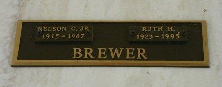 BREWER, NELSON C. JR. - Pima County, Arizona | NELSON C. JR. BREWER - Arizona Gravestone Photos