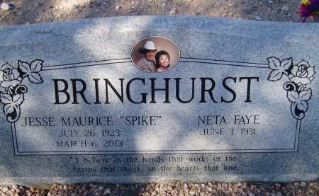 BRINGHURST, NETA FAYE - Pima County, Arizona | NETA FAYE BRINGHURST - Arizona Gravestone Photos