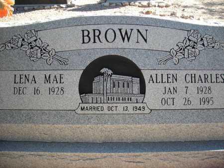 BROWN, ALLEN CHARLES - Pima County, Arizona | ALLEN CHARLES BROWN - Arizona Gravestone Photos