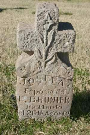 BRUNIER, JOSEFA - Pima County, Arizona | JOSEFA BRUNIER - Arizona Gravestone Photos