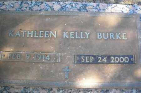BURKE, KATHLEEN KELLY - Pima County, Arizona | KATHLEEN KELLY BURKE - Arizona Gravestone Photos
