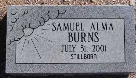 BURNS, SAMUEL ALMA - Pima County, Arizona | SAMUEL ALMA BURNS - Arizona Gravestone Photos