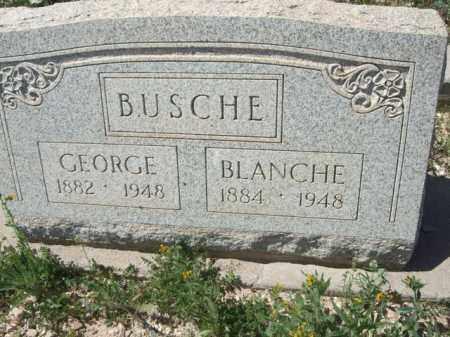 BUSCHE, BLANCHE - Pima County, Arizona | BLANCHE BUSCHE - Arizona Gravestone Photos