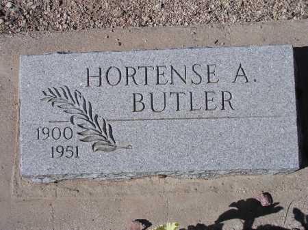 BUTLER, HORTENSE A. - Pima County, Arizona | HORTENSE A. BUTLER - Arizona Gravestone Photos