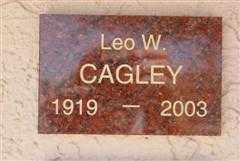 CAGLEY, LEO W. - Pima County, Arizona | LEO W. CAGLEY - Arizona Gravestone Photos