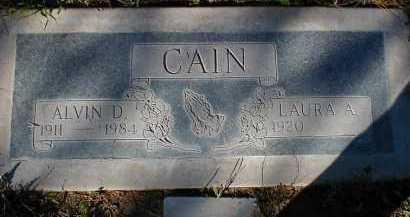 CAIN, LAURA A. - Pima County, Arizona | LAURA A. CAIN - Arizona Gravestone Photos