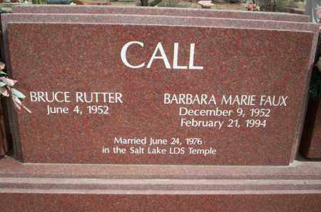 FAUX CALL, BARBARA MARIE - Pima County, Arizona | BARBARA MARIE FAUX CALL - Arizona Gravestone Photos