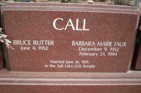 CALL, BARBARA MARIE - Pima County, Arizona   BARBARA MARIE CALL - Arizona Gravestone Photos