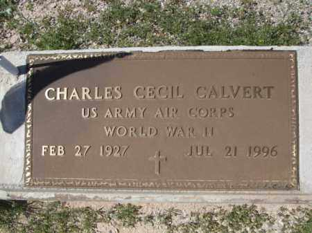 CALVERT, CHARLES - Pima County, Arizona | CHARLES CALVERT - Arizona Gravestone Photos