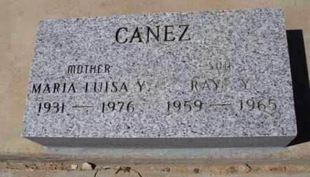 CANEZ, RAY Y. - Pima County, Arizona   RAY Y. CANEZ - Arizona Gravestone Photos