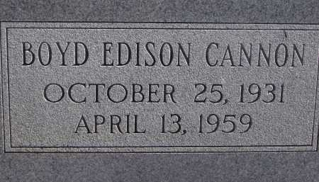 CANNON, BOYD EDISON - Pima County, Arizona | BOYD EDISON CANNON - Arizona Gravestone Photos