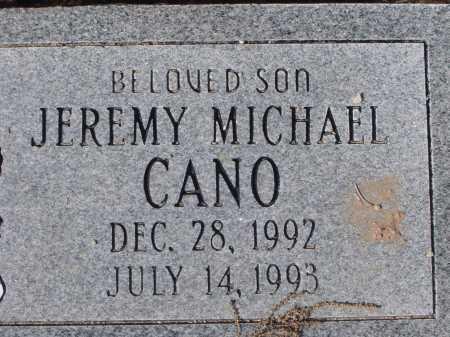 CANO, JEREMY MICHAEL - Pima County, Arizona | JEREMY MICHAEL CANO - Arizona Gravestone Photos