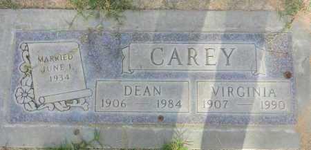 CAREY, DEAN - Pima County, Arizona   DEAN CAREY - Arizona Gravestone Photos