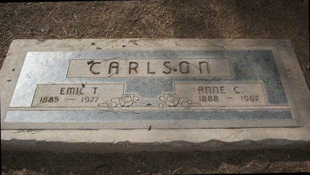 CARLSON CARLSON, ANNE ELMINE CHARLOTTE - Pima County, Arizona | ANNE ELMINE CHARLOTTE CARLSON CARLSON - Arizona Gravestone Photos