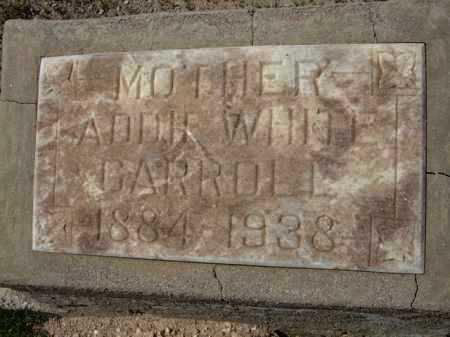 CARROLL, ADDIE - Pima County, Arizona | ADDIE CARROLL - Arizona Gravestone Photos