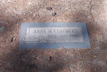 CHALMERS, ANNA - Pima County, Arizona | ANNA CHALMERS - Arizona Gravestone Photos