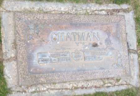 CHATMAN, LILLIAN - Pima County, Arizona | LILLIAN CHATMAN - Arizona Gravestone Photos