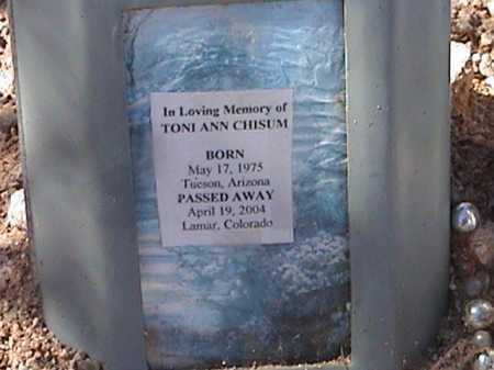 CHISUM, TONI ANN - Pima County, Arizona | TONI ANN CHISUM - Arizona Gravestone Photos