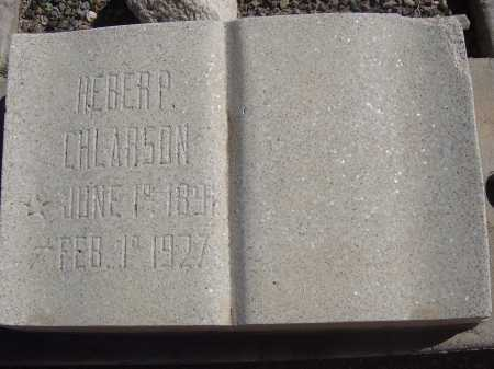CHLARSON, HEBER P. - Pima County, Arizona | HEBER P. CHLARSON - Arizona Gravestone Photos