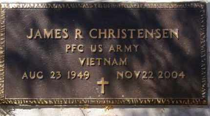 CHRISTENSEN, JAMES R. - Pima County, Arizona | JAMES R. CHRISTENSEN - Arizona Gravestone Photos