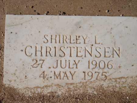 CHRISTENSEN, SHIRLEY L. - Pima County, Arizona | SHIRLEY L. CHRISTENSEN - Arizona Gravestone Photos