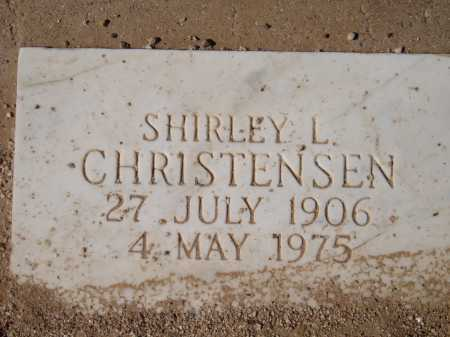 CHRISTENSEN, SHIRLEY L. - Pima County, Arizona | SHIRLEY L. CHRISTENSEN - Arizona Gravestone Photos