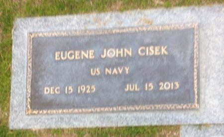 CISEK, EUGENE JOHN - Pima County, Arizona   EUGENE JOHN CISEK - Arizona Gravestone Photos