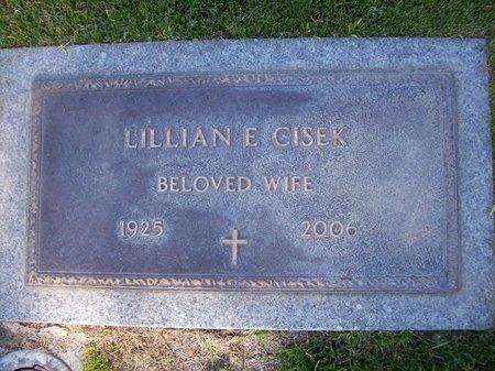 CISEK, LILLIAN E - Pima County, Arizona | LILLIAN E CISEK - Arizona Gravestone Photos